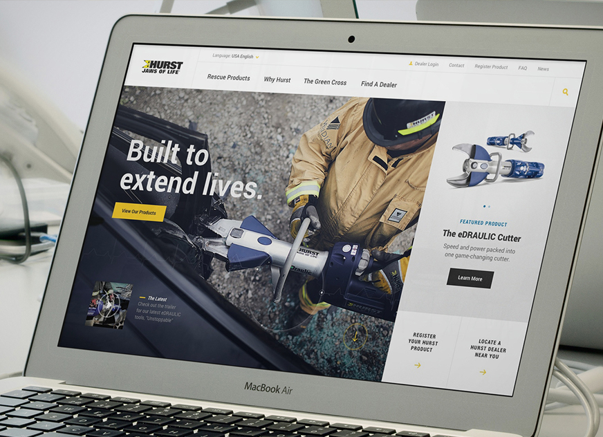 HURST Launches New Jaws of Life® Website